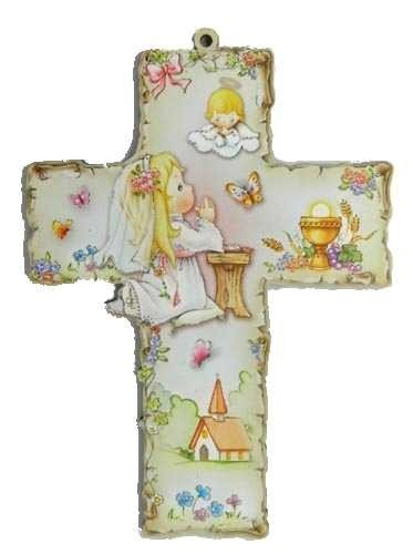 Croix de Communion - Fille