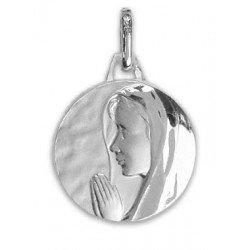 Médaille de la Vierge Priante - argent