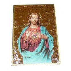 Cadre à suspendre du Sacré-Cœur de Jésus