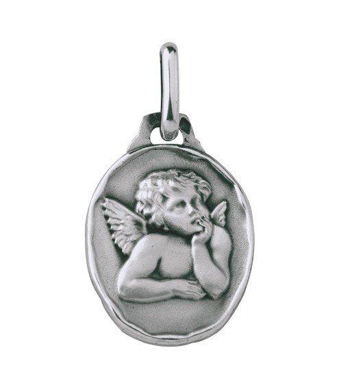 Médaille Ange 16mm - argent
