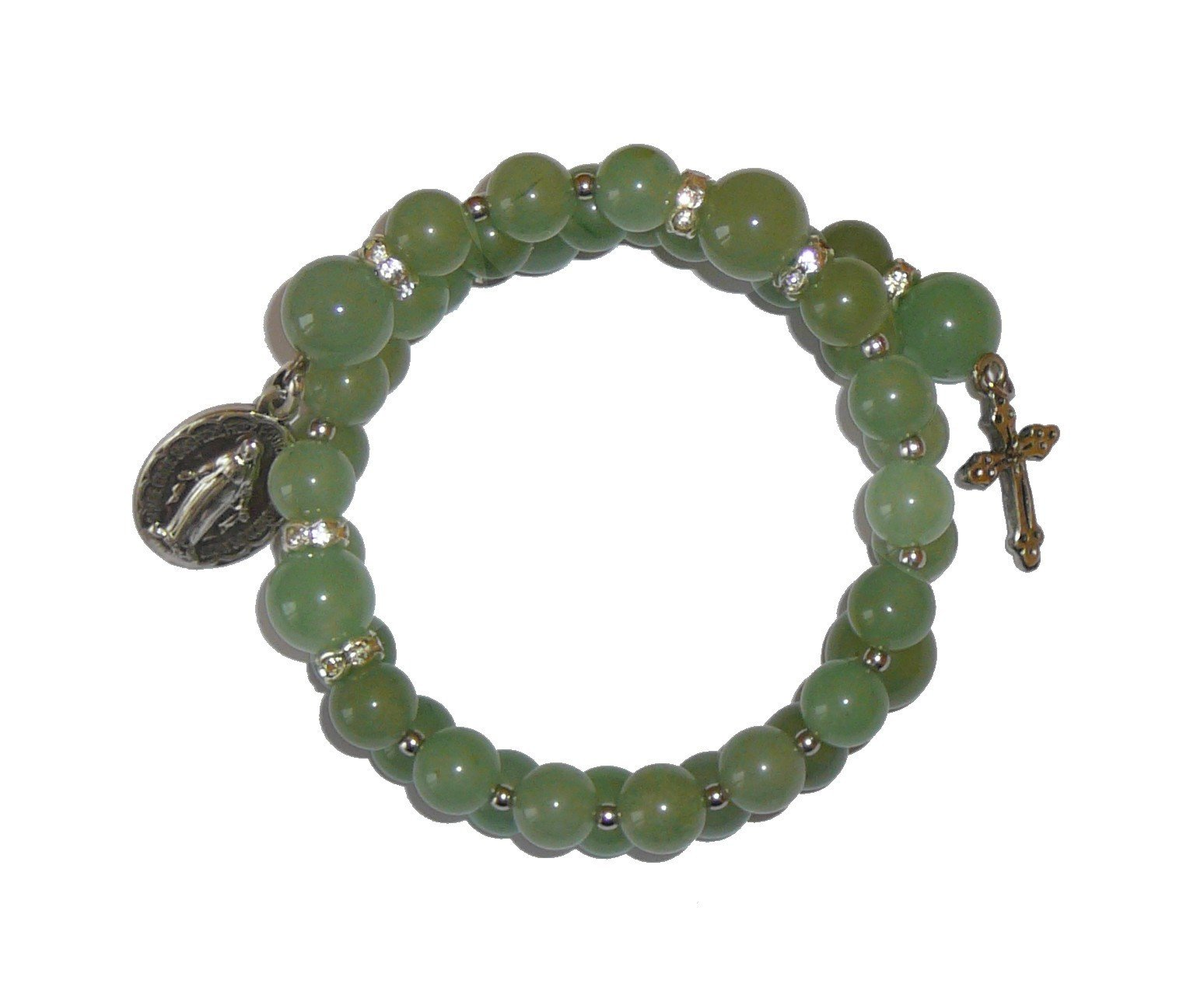 Bracelet dizainier en Jade