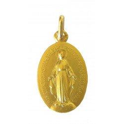 Médaille miraculeuse - or 9 carats