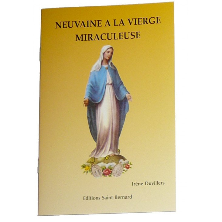 Livret neuvaine à la Vierge miraculeuse
