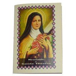Livret neuvaine à sainte Thérèse