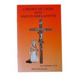 Livret Chemin de Croix avec sainte Bernadette