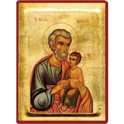 Icône byzantine saint Joseph