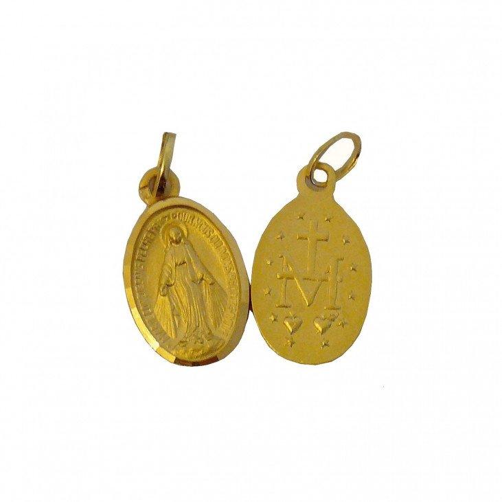 Médaille Miraculeuse - plaqué or