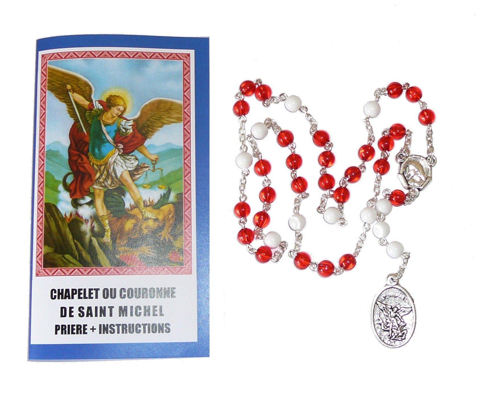 Chapelet + notice à saint Michel Archange