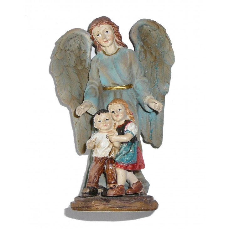 Statue de l'Ange Gardien 13cm