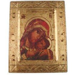 Icône byzantine Vierge de Korsun