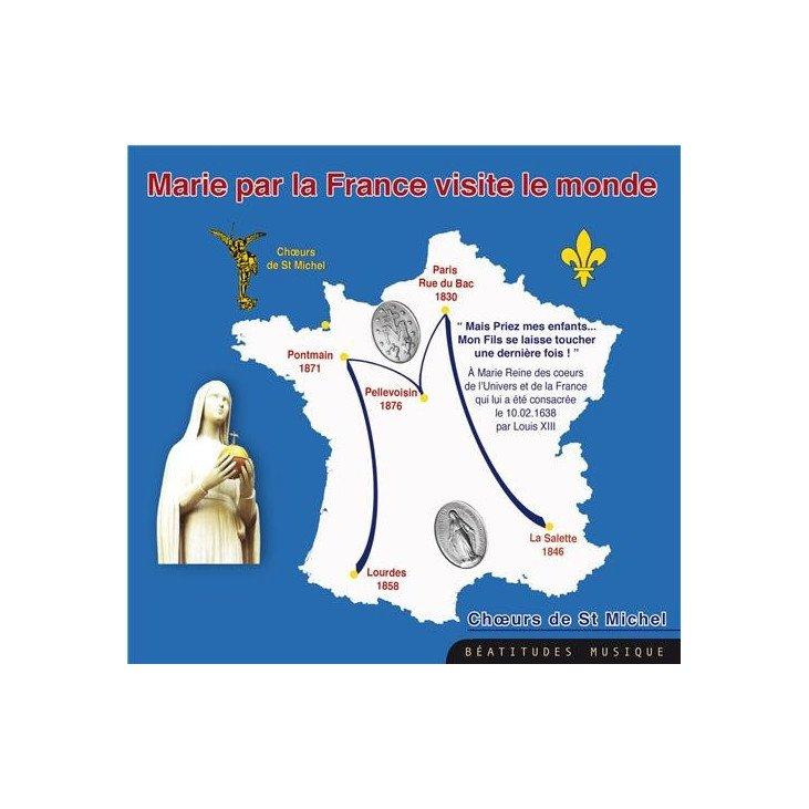 CD Marie par la France visite le monde