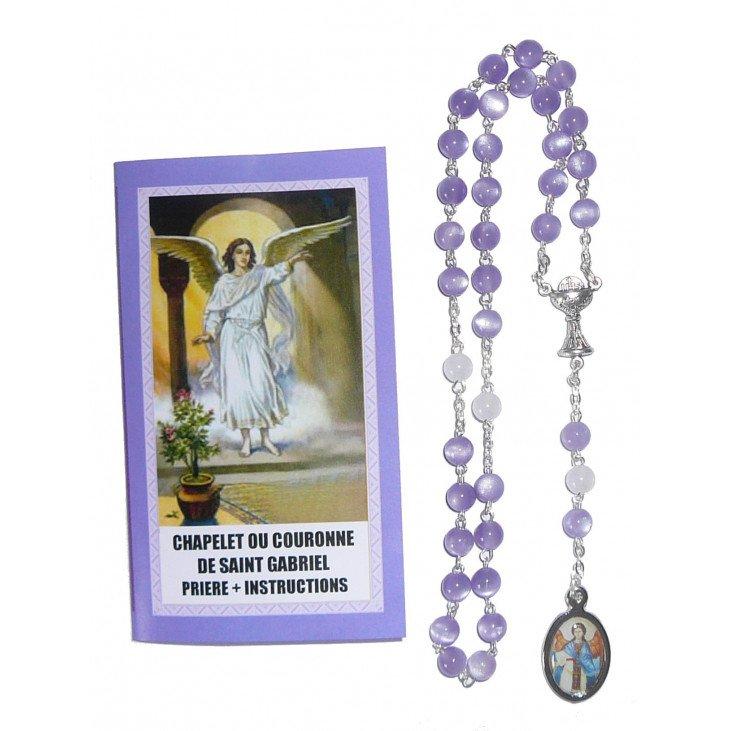 Chapelet saint Gabriel Archange