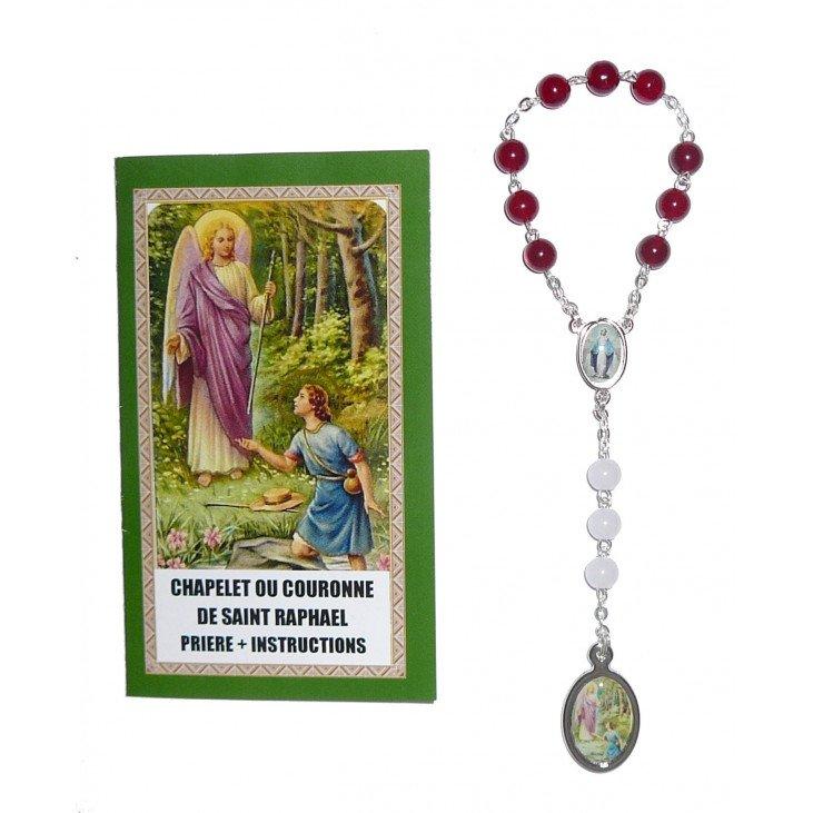 Chapelet de saint Raphael + notice