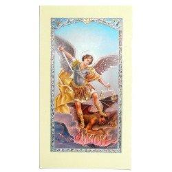 Image avec prière - Saint Michel Archange