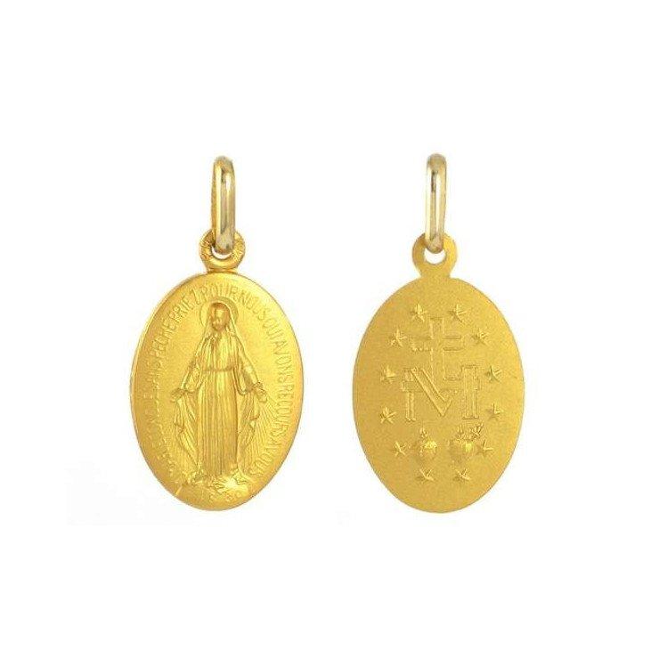 Médaille Miraculeuse - or 18 carats