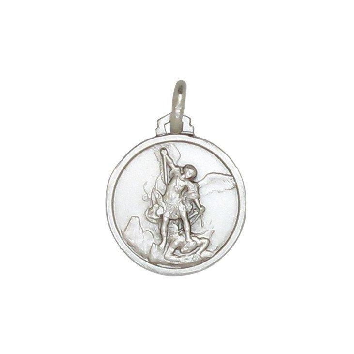 Médaille Saint Michel archange - argent