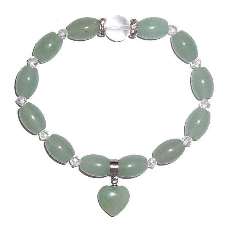 Bracelet perles en Jade