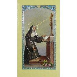Image avec prière - Sainte Rita