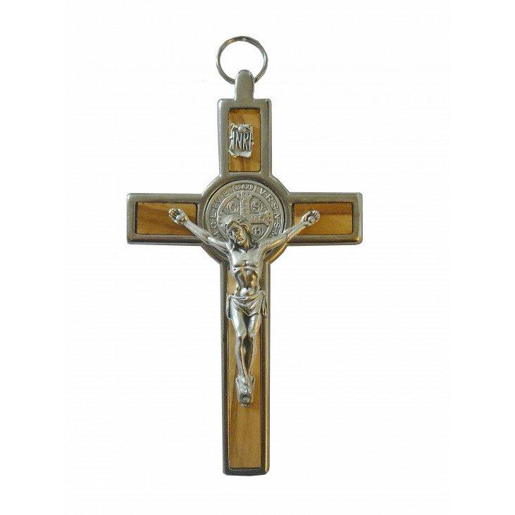 Crucifix saint Benoit de 11 cm