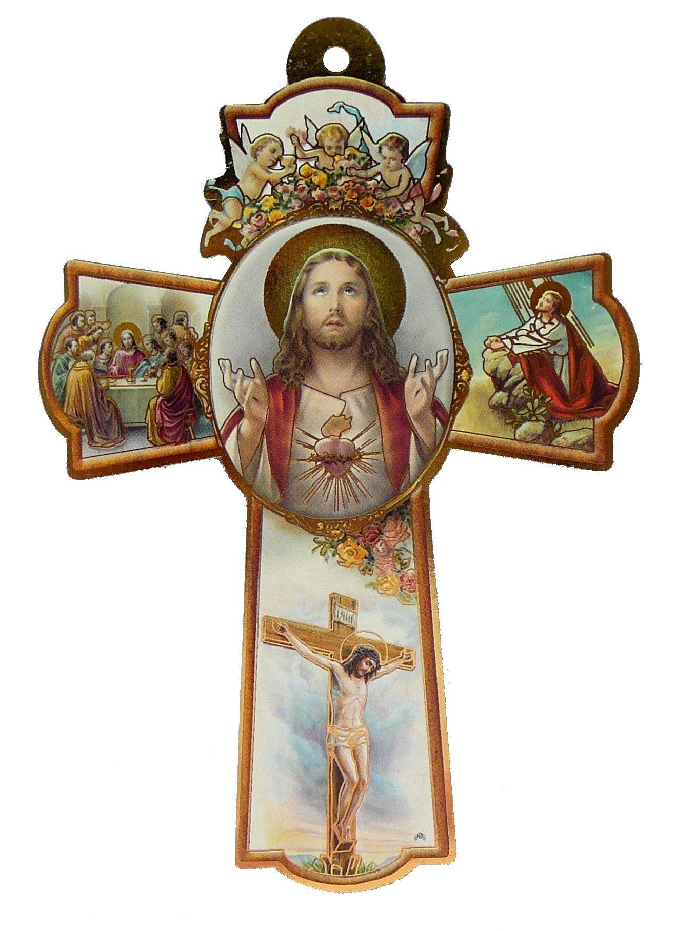 Croix du Sacré-Coeur de Jésus