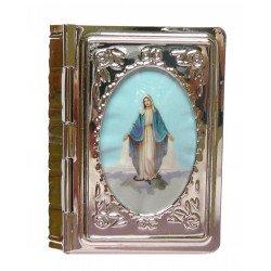 Boite pour chapelet - Vierge Miraculeuse