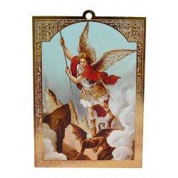 Cadre doré de saint Michel Archange