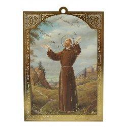 Cadre de saint François d'Assise