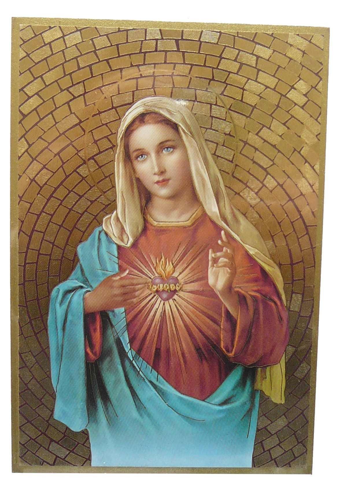 Cadre à suspendre du Sacré Cœur de Marie