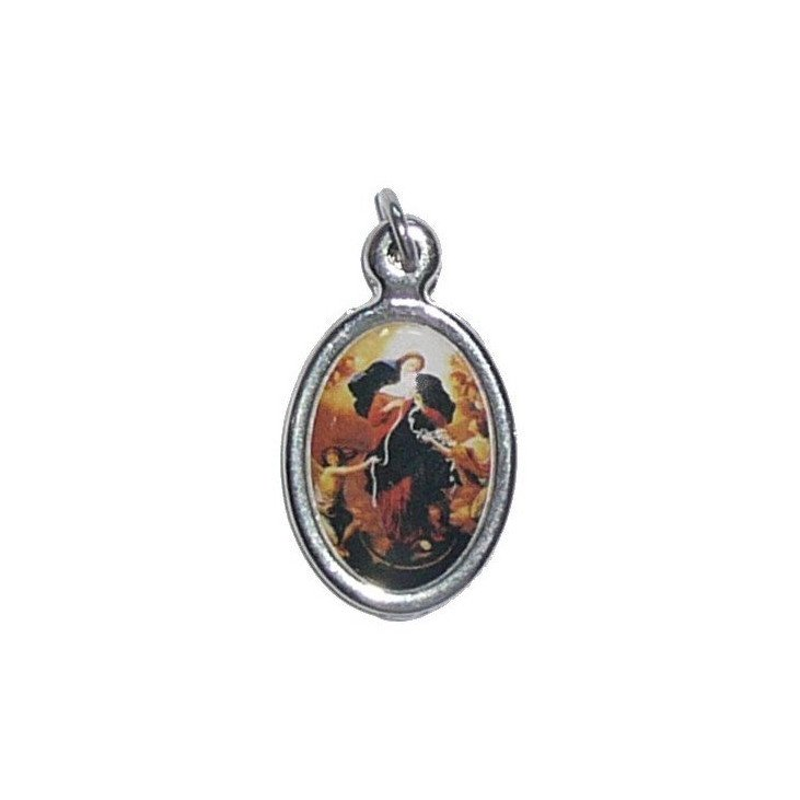 Médaille en résine - Saint(e) au choix - 15 mm ou 25 mm
