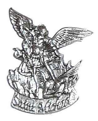 Plaque auto - Saint Michel