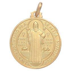 Médaille Saint Benoit - or 18 carats