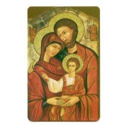 Carte de prière - Sainte Famille