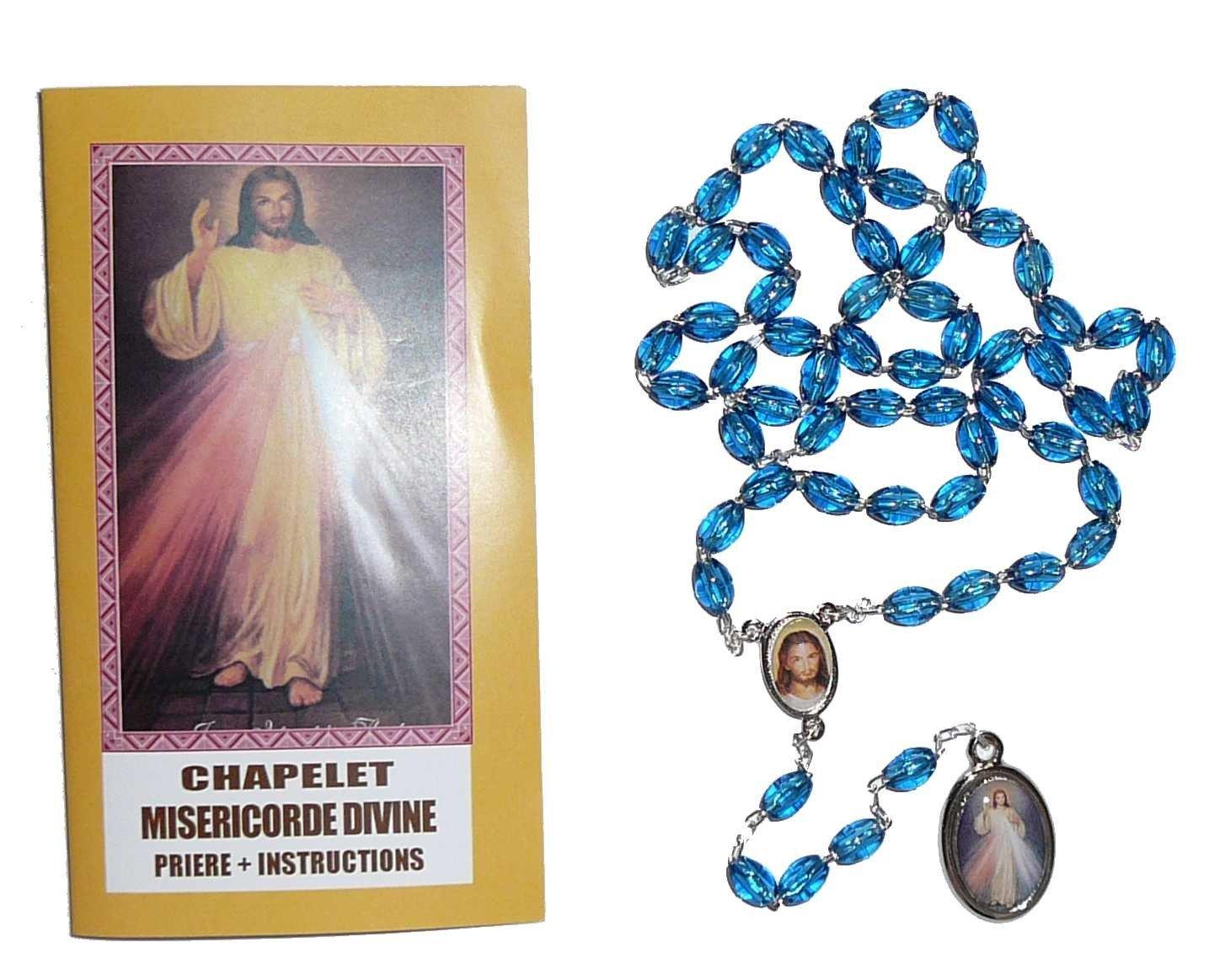 Chapelet Divine Miséricorde + notice