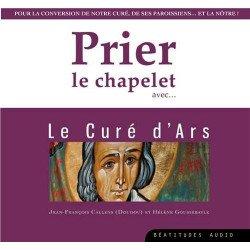 """CD """"Prier le chapelet avec le Curé d'Ars"""""""