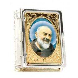 Boite pour chapelet - Padre Pio
