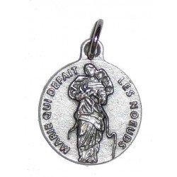Médaille Marie qui défait les noeuds - 18 mm