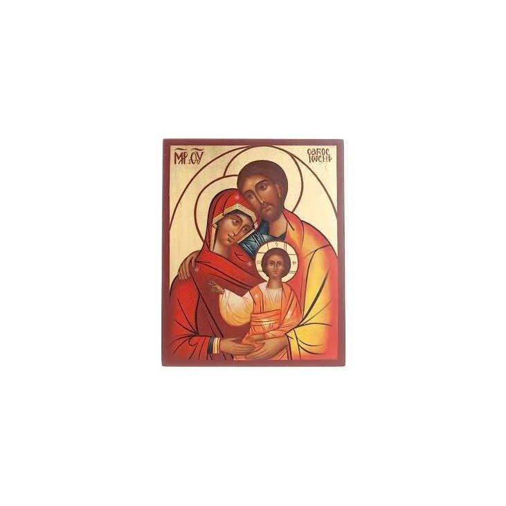 Icône russe sainte Famille