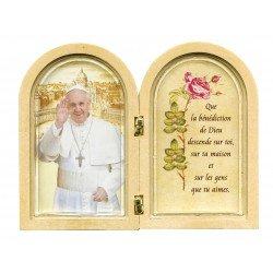 Diptyque du pape François
